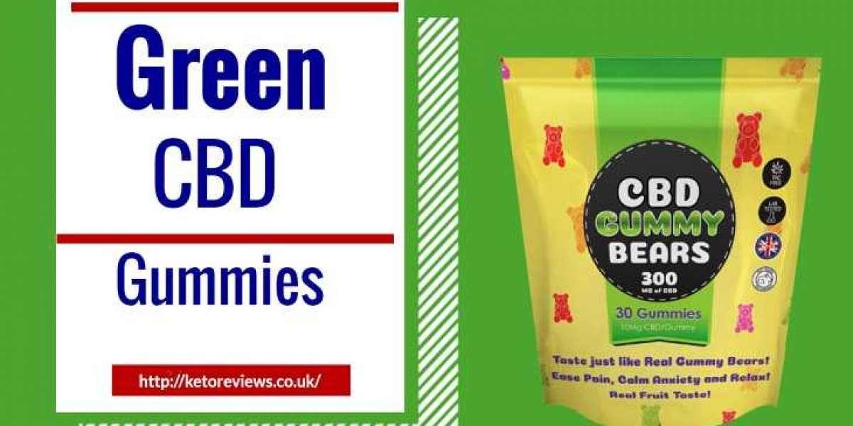 Green CBD Gummies Dragons Den
